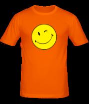 Мужская футболка  Смайлик