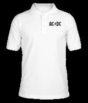 Футболка поло мужская AC DC