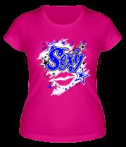 Женская футболка  Sexy