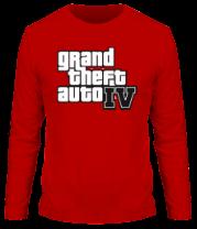 Мужская футболка с длинным рукавом Gta 4