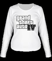 Женская футболка с длинным рукавом Gta 4