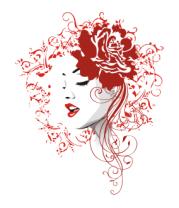 Мужская майка Rose red