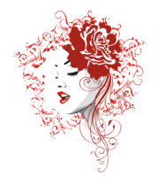 Женская майка борцовка Rose red