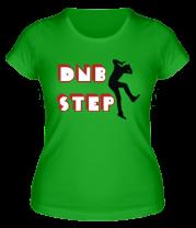 Женская футболка  DNB step