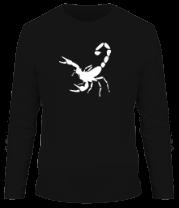 Мужская футболка с длинным рукавом Scorpions