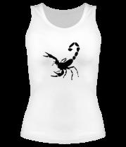 Женская майка борцовка Scorpions