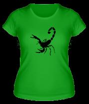 Женская футболка  Scorpions