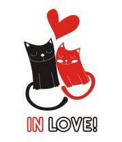 Детская футболка  In love