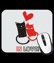 Коврик для мыши In love