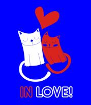 Женская футболка  In love