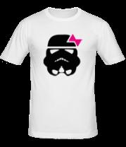 Мужская футболка  Штурмовик с бантиком