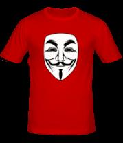 Мужская футболка  Вендетта маск