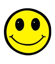 Мужская футболка с длинным рукавом Смайл - улыбка