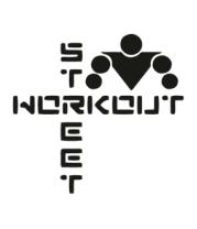 Мужская футболка с длинным рукавом Street Workout (крестом)