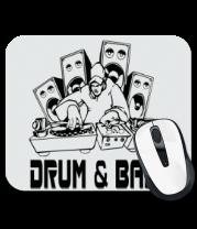 Коврик для мыши Drum & Bass