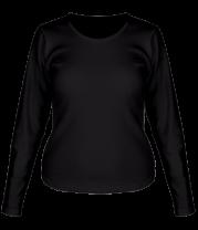 Женская футболка с длинным рукавом Без рисунка