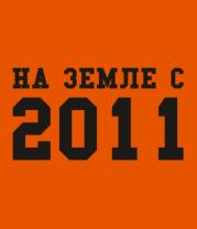 Футболка поло мужская На земле с 2011