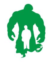Женская футболка  Incredible Hulk