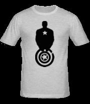 Мужская футболка  Captain America