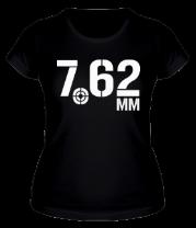 Женская футболка  7.62 мм