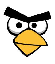 Женская футболка с длинным рукавом Angry Birds Red Face