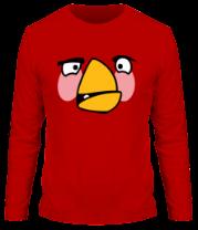 Мужская футболка с длинным рукавом Angry Birds Matilda Face