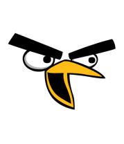 Мужская майка Angry Birds Chuck Face