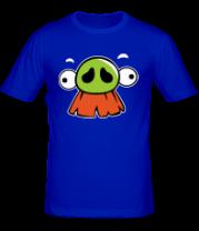 Мужская футболка  Angry Birds Baron Face