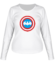 Женская футболка с длинным рукавом Captain Batman
