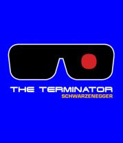 Мужская футболка с длинным рукавом The Terminator