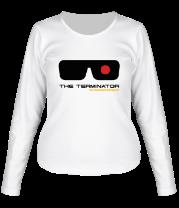 Женская футболка с длинным рукавом The Terminator