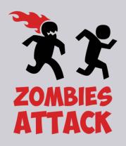 Толстовка Zombies Attack
