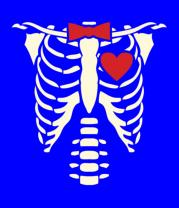 Детская футболка  Рентген