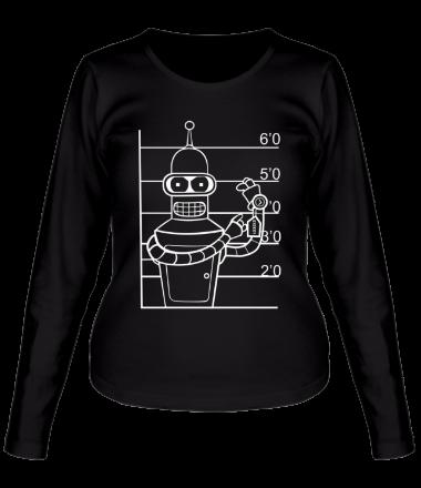 Женская футболка с длинным рукавом Bender