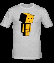 Мужская футболка  Человек коробка