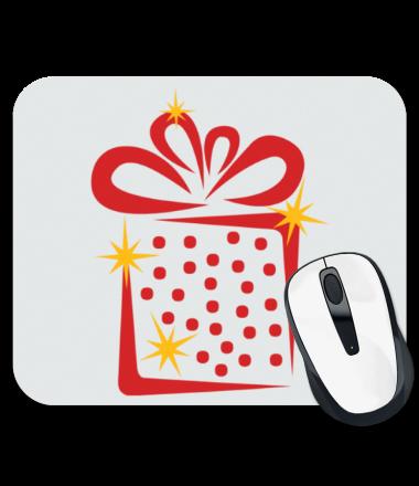 Коврик для мыши Новогодний подарок