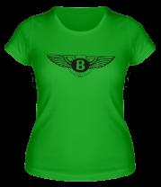 Женская футболка  Bentley