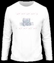 Мужская футболка с длинным рукавом День Святого Валентина