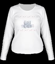 Женская футболка с длинным рукавом День Святого Валентина