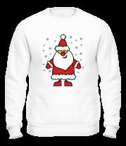 Толстовка без капюшона Веселый Дед Мороз