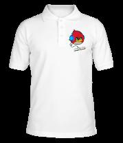 Футболка поло мужская Angry Birds Music