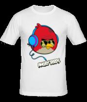 Мужская футболка  Angry Birds Music