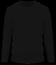 Мужская футболка с длинным рукавом Крылья Ангела