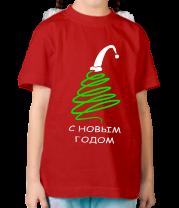 Детская футболка  Новогодняя ёлочка
