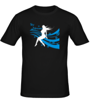 Мужская футболка  Sky princess