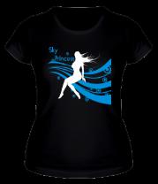 Женская футболка  Sky princess