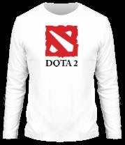 Мужская футболка с длинным рукавом DOTA 2