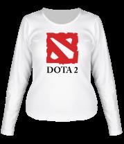 Женская футболка с длинным рукавом DOTA 2