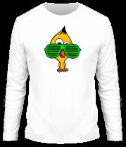 Мужская футболка с длинным рукавом Ципа в очках