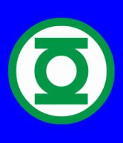 Бейсболка Green Lantern